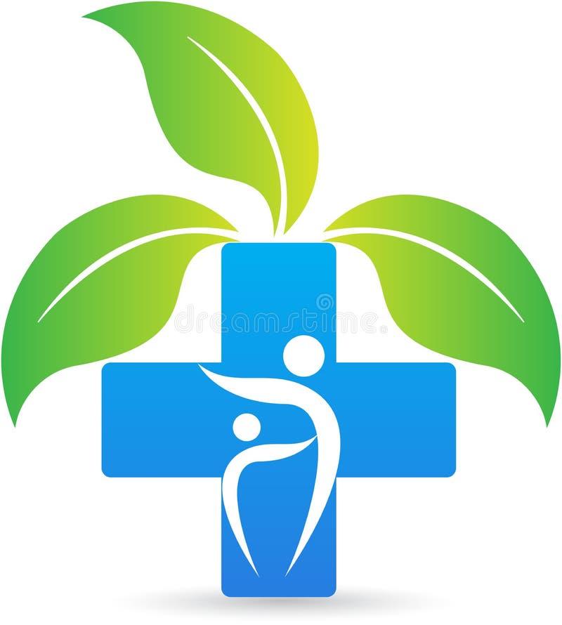Croix de soins de santé illustration libre de droits