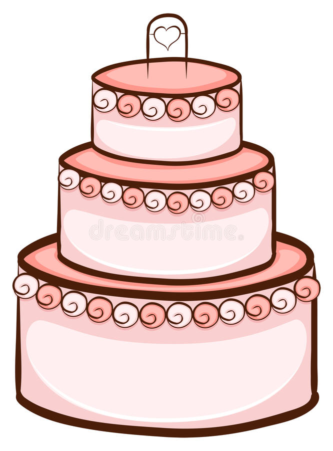 Wedding Cake D Drawing