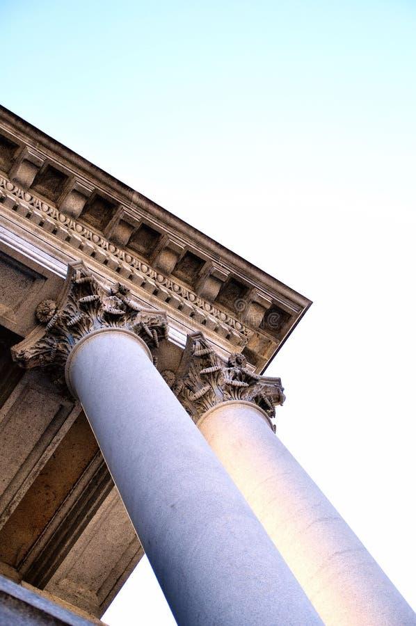 Columna y tejado del capitolio de Pennsylvania fotos de archivo