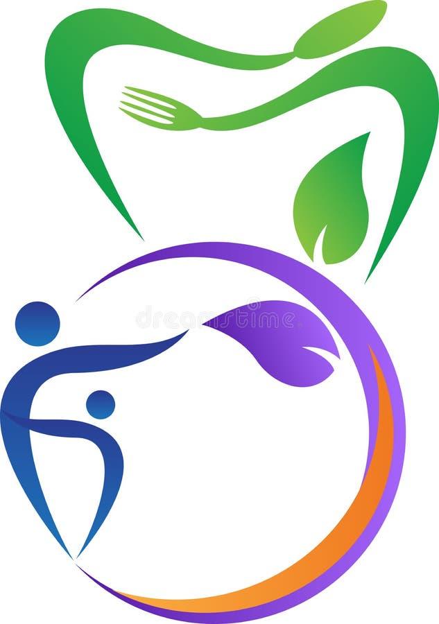 Logotipo del restaurante de la familia ilustración del vector