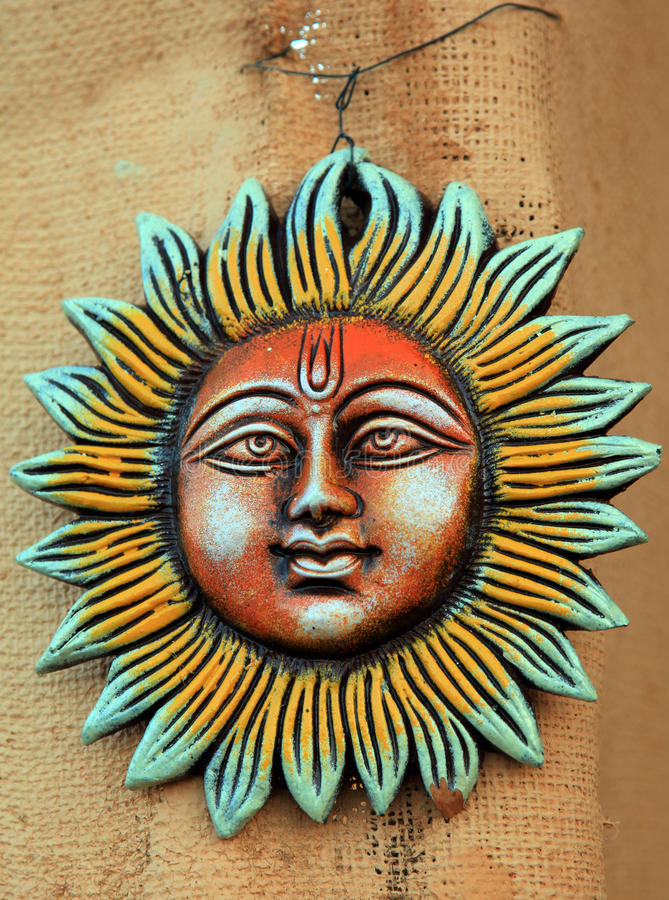 Un dieu de Sun images stock