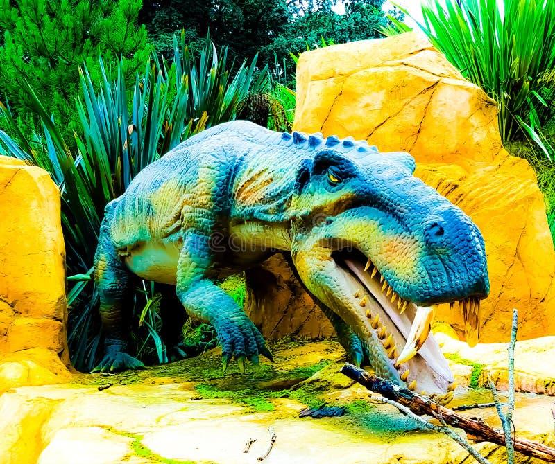 Un dinosauro fotografia stock libera da diritti