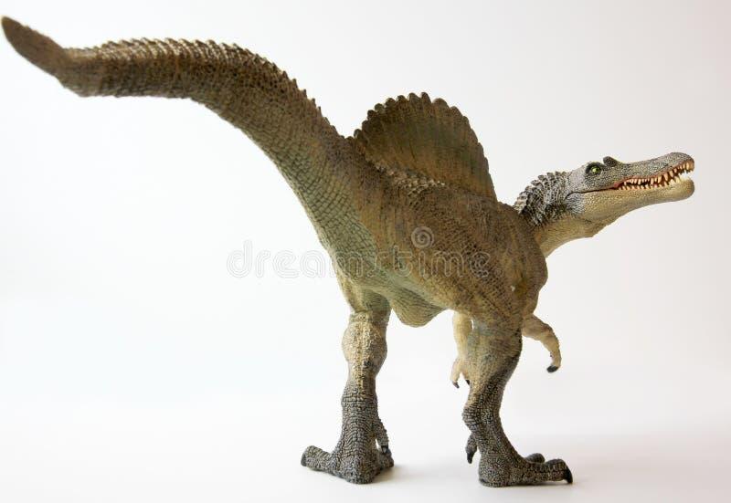 Un dinosauro di Spinosaurus con le mascelle meravigliate illustrazione di stock