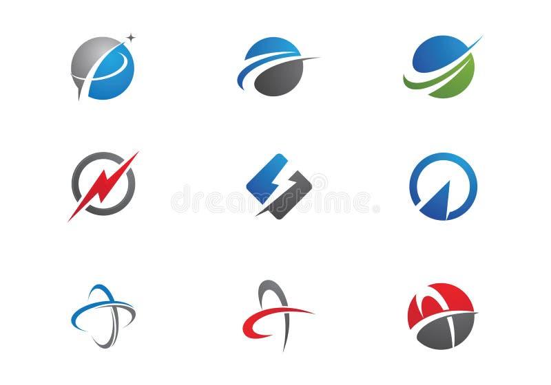 Un diseño más rápido del icono del vector de la plantilla del logotipo ilustración del vector