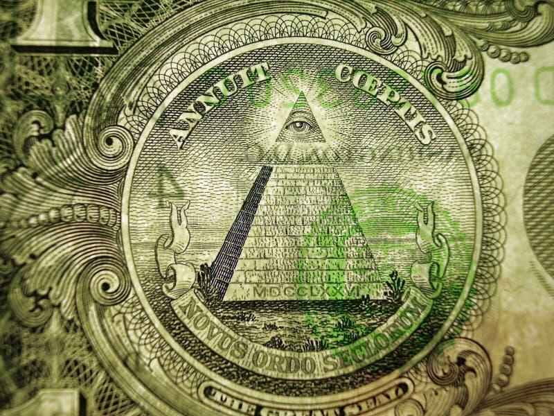 Un dollar image libre de droits