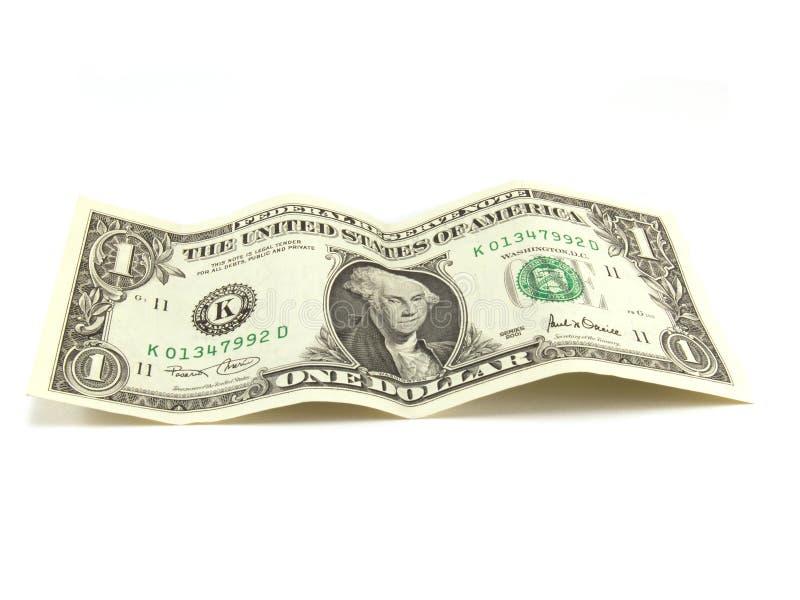 Un dollar photographie stock libre de droits