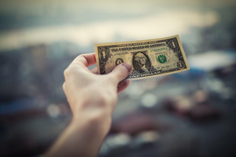 Un dollar de disponible photos libres de droits
