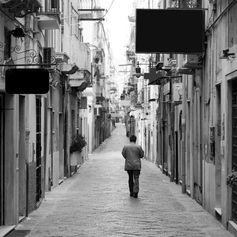 Un domingo italiano imagenes de archivo
