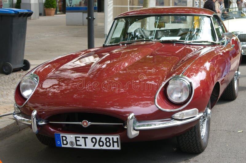 Un E-Tipo coupé del giaguaro dell'automobile sportiva fotografia stock