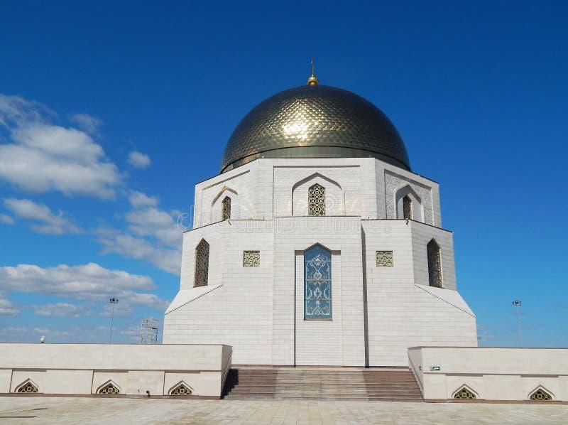 """Un edificio conmemorativo para honrar la adopción del Islam por los búlgaros de Volga en 922"""" imágenes de archivo libres de regalías"""
