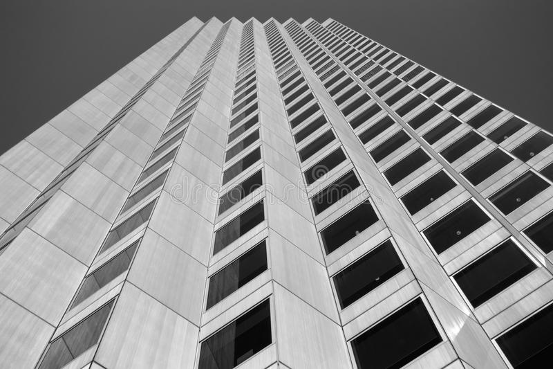 Un edificio de oficinas en la ciudad de Perth imágenes de archivo libres de regalías