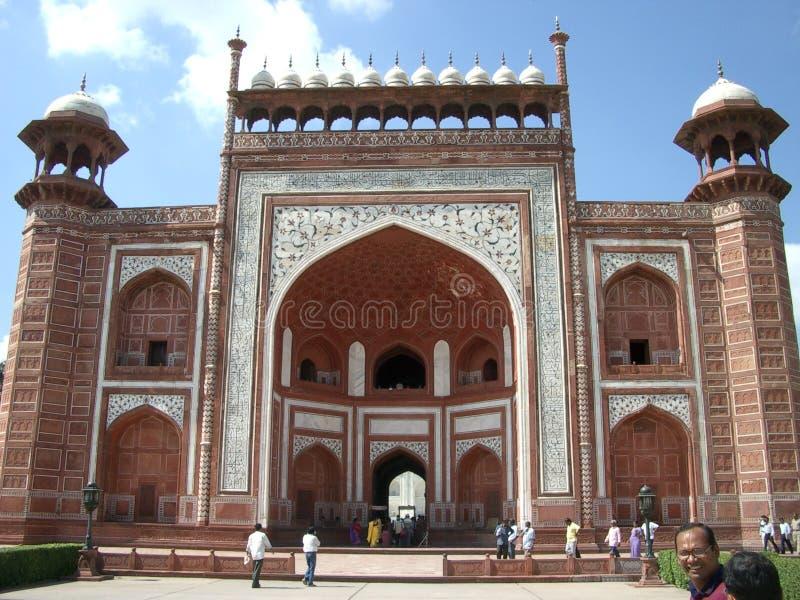 Un edificio en Taj Mahal en la India fotografía de archivo