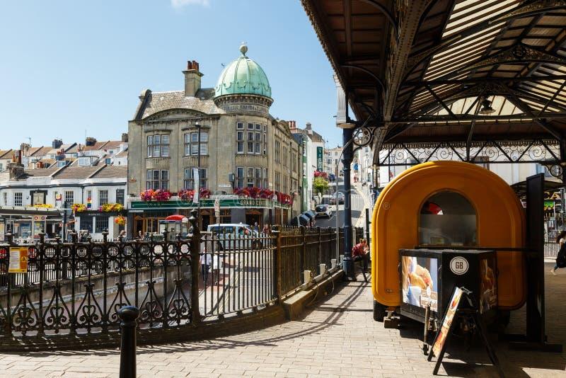 Un edificio más lleno, de Smith y de Turner en Brighton, Reino Unido imágenes de archivo libres de regalías