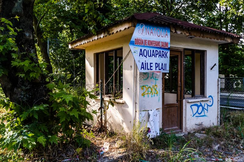 Un edificio viejo Desolated de la historia - Turquía fotos de archivo libres de regalías