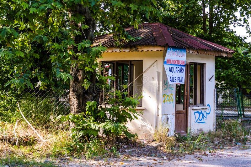 Un edificio viejo Desolated de la historia - Turquía imagenes de archivo