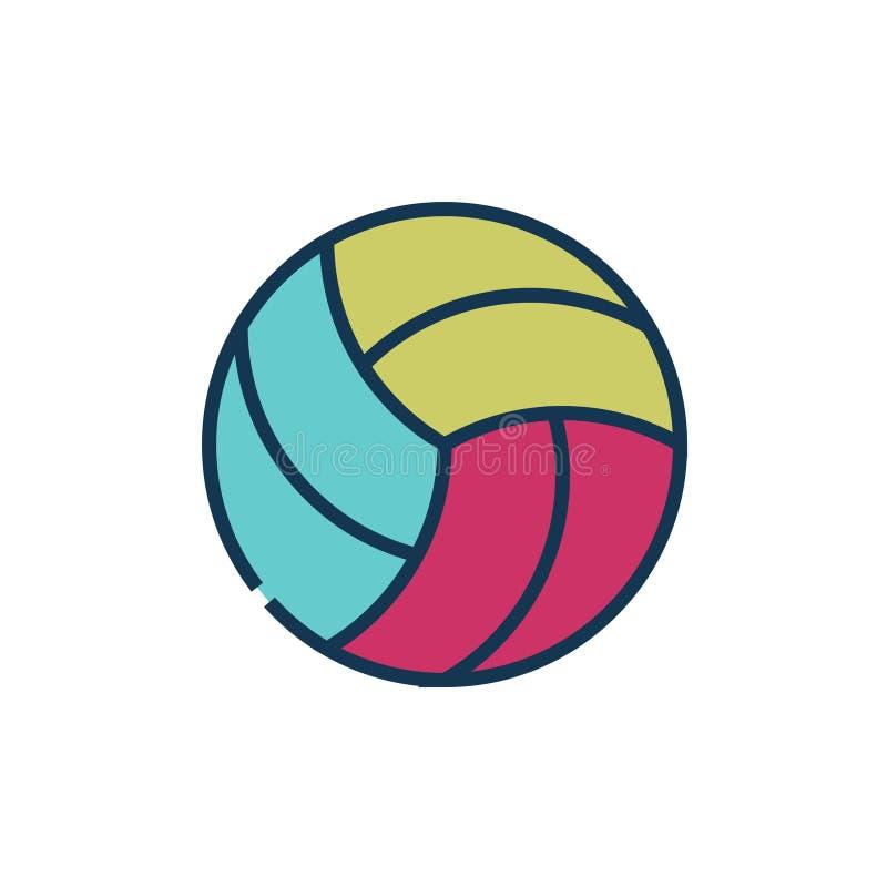Un ejemplo del vector del diverso equipo de deporte ilustración del vector