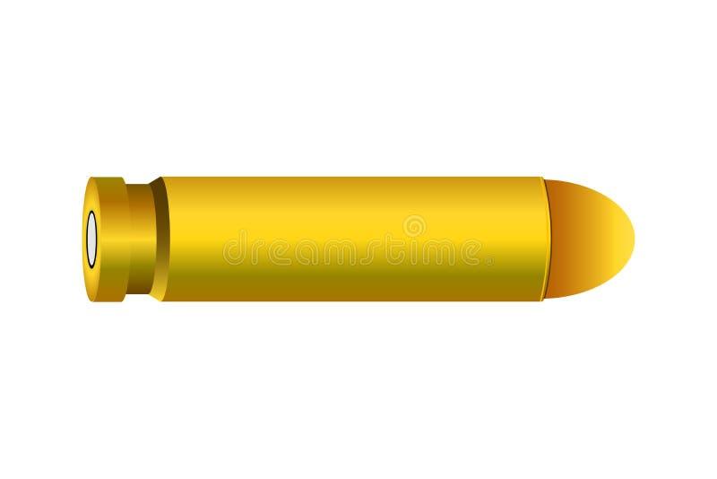 Un ejemplo hermoso de la bala stock de ilustración