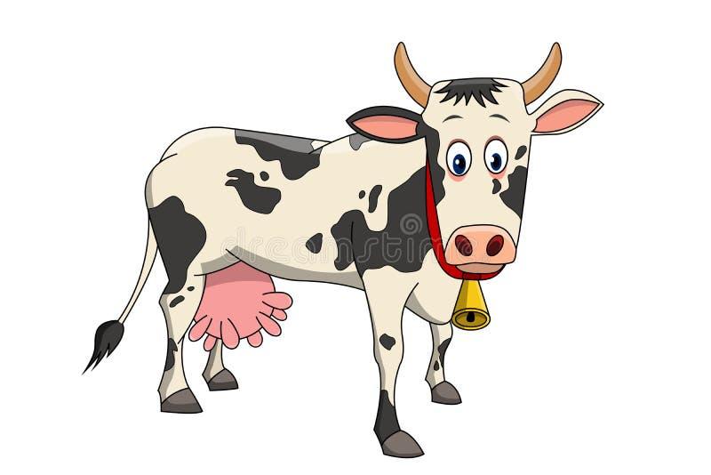 Un ejemplo hermoso de la vaca libre illustration