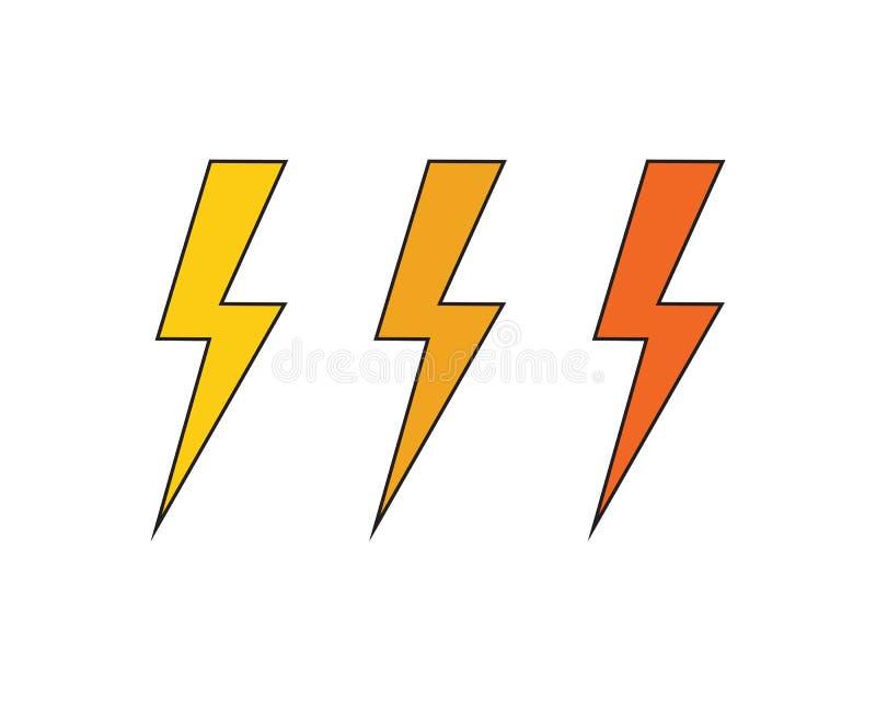Un ejemplo m?s r?pido del icono del vector de Logo Template ilustración del vector