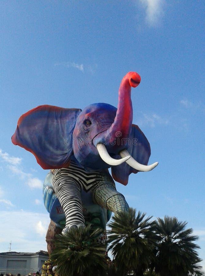 Un elefante en Toscana fotografía de archivo