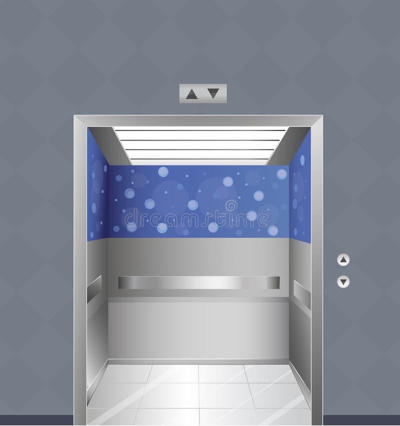 Un elevatore royalty illustrazione gratis