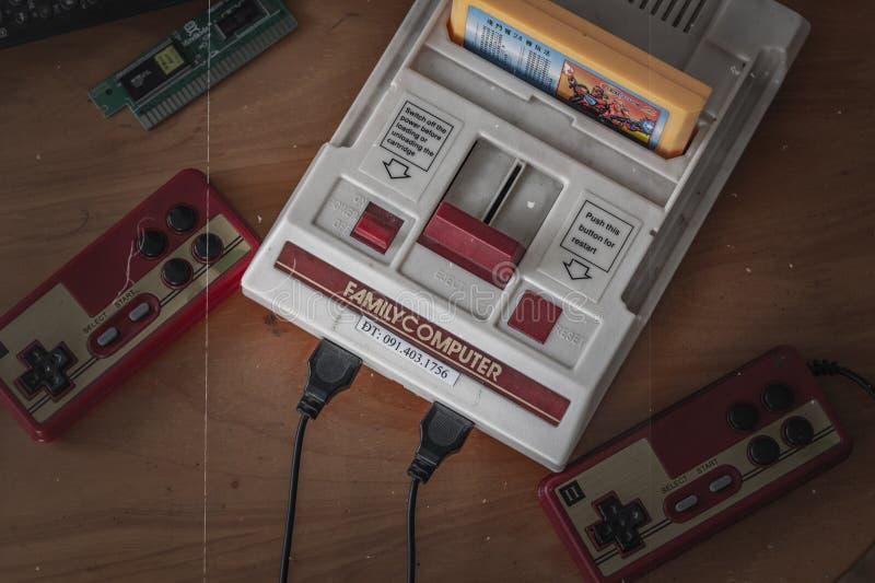 Un engranaje viejo del juego imagen de archivo