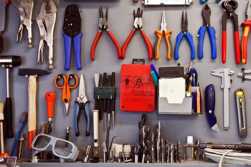 Un ensemble d'outils photographie stock
