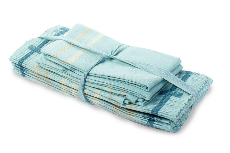 Un ensemble de serviettes en vacances photo libre de droits