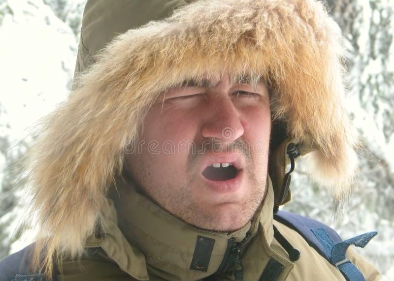 Un Esquimau photographie stock