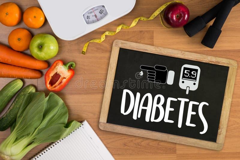 un essai de diabète, concept médical de santé, obésité, analyse de sang image libre de droits