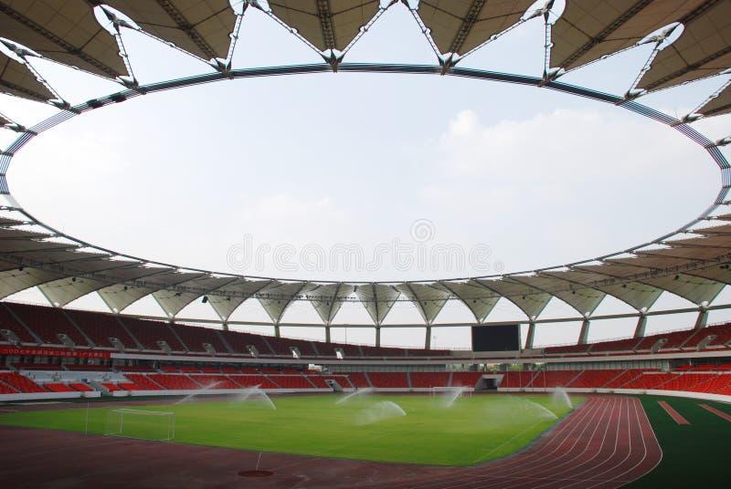 Un estadio moderno grande imagen de archivo