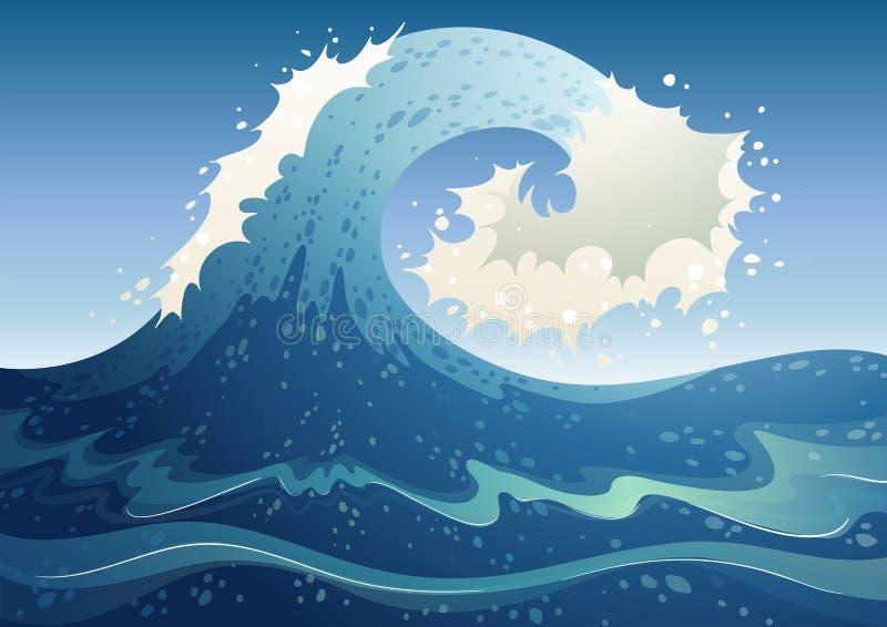 Un extracto de la onda libre illustration