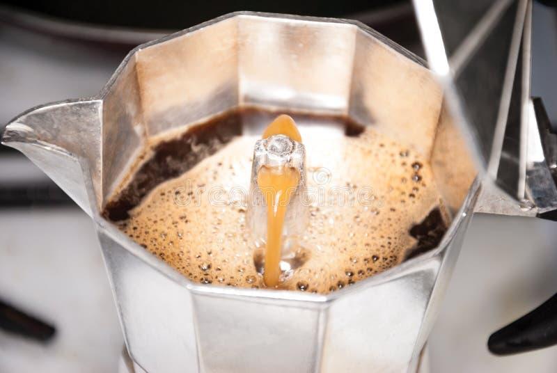 Un fabricante del coffe foto de archivo libre de regalías