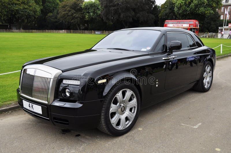 Un fantasma Coupé de Rolls Royce imágenes de archivo libres de regalías