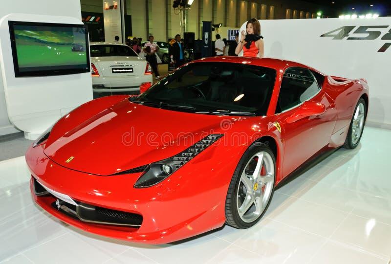 Un Ferrari 458 Itatia foto de archivo