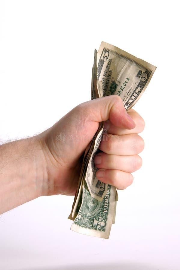 Un fistfull des dollars photographie stock