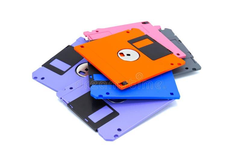 Un floppy disk, inoltre ha chiamato un floscio, dischetto fotografia stock