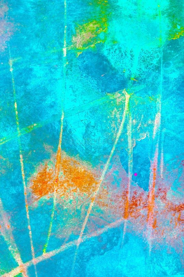 Un fond abstrait de papier d'aquarelle image stock