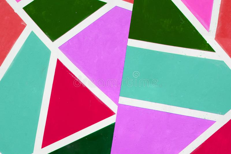 Un fond coloré de différentes couleurs de peinture a tourbillonné ensemble faisant un effet marbré illustration libre de droits