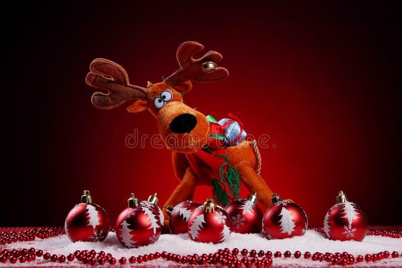 Un fond de Noël joue la composition photo libre de droits