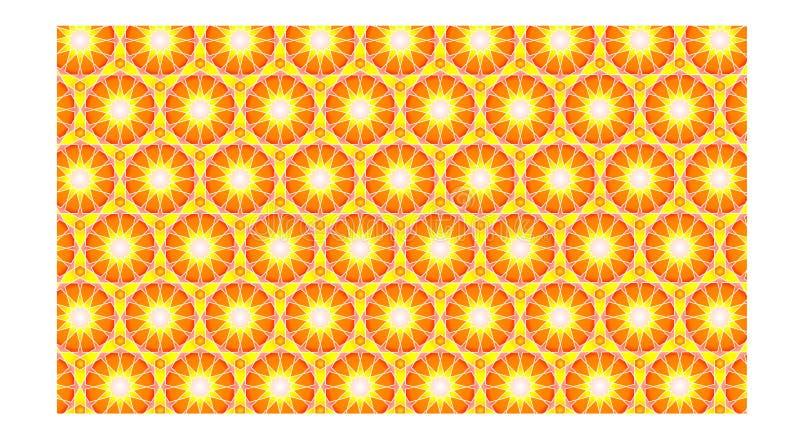 Un fond islamique merveilleux avec le style moderne, à style cohérent, il se compose des étoiles avec beaucoup de nervures illustration de vecteur