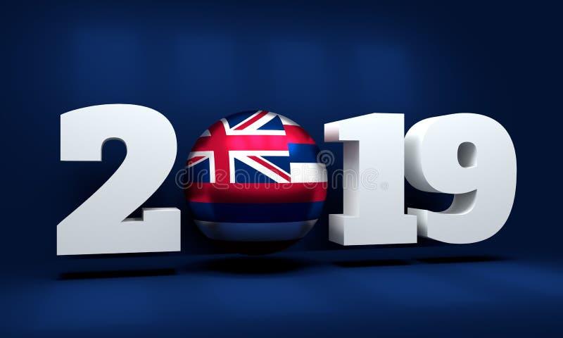 Un fondo da 2019 nuovi anni royalty illustrazione gratis