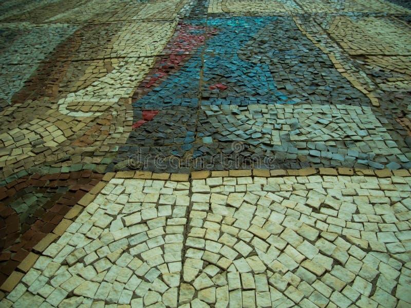 Un fondo de la piedra de pavimentación imagen de archivo