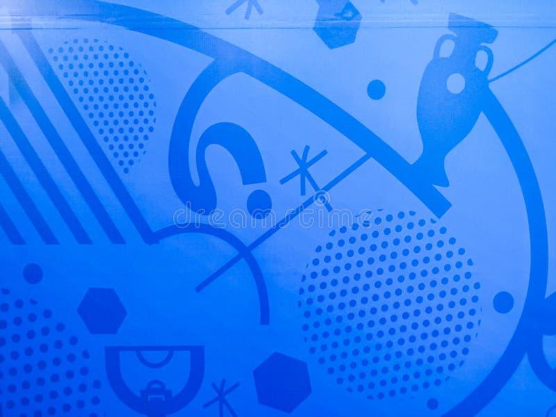 Un fondo del tabellone per le affissioni dell'euro 2016 dell'UEFA Francia royalty illustrazione gratis