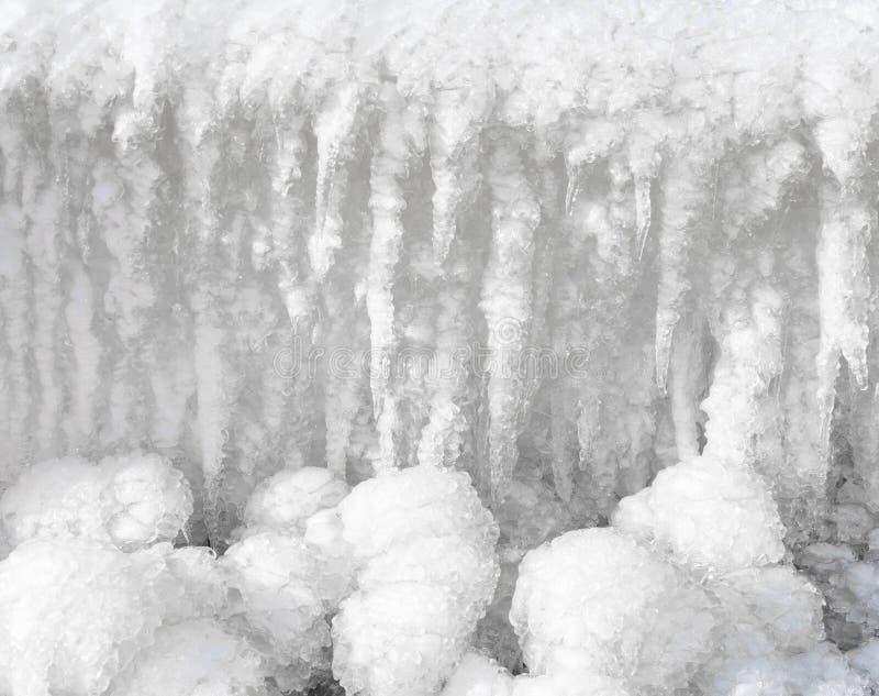 Un fondo freddo del ghiaccio fotografie stock