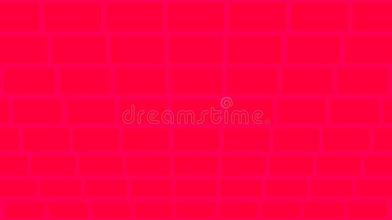 Un fondo geometrico che somiglia ai mattoni illustrazione di stock