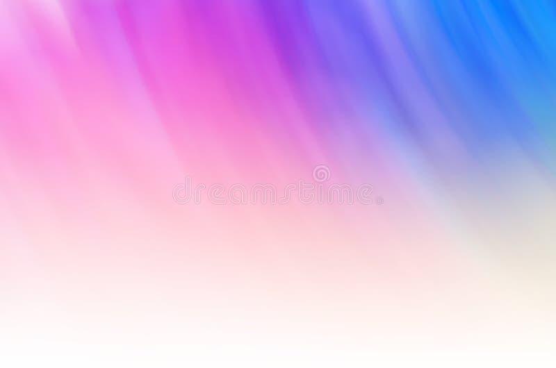 Un fondo molle della nuvola dell'arcobaleno fotografia stock libera da diritti