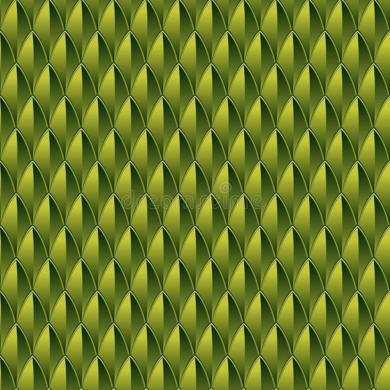 Fondo de la piel del reptil ilustración del vector