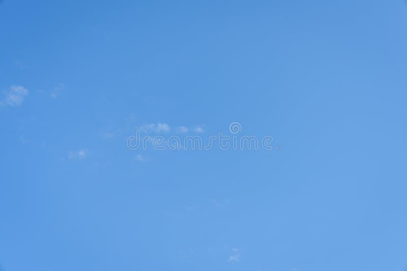 Un forro del cielo azul fotografía de archivo libre de regalías