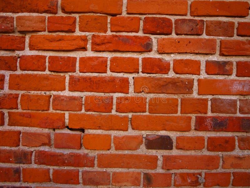 Un fragment d'un vieux mur de briques image libre de droits